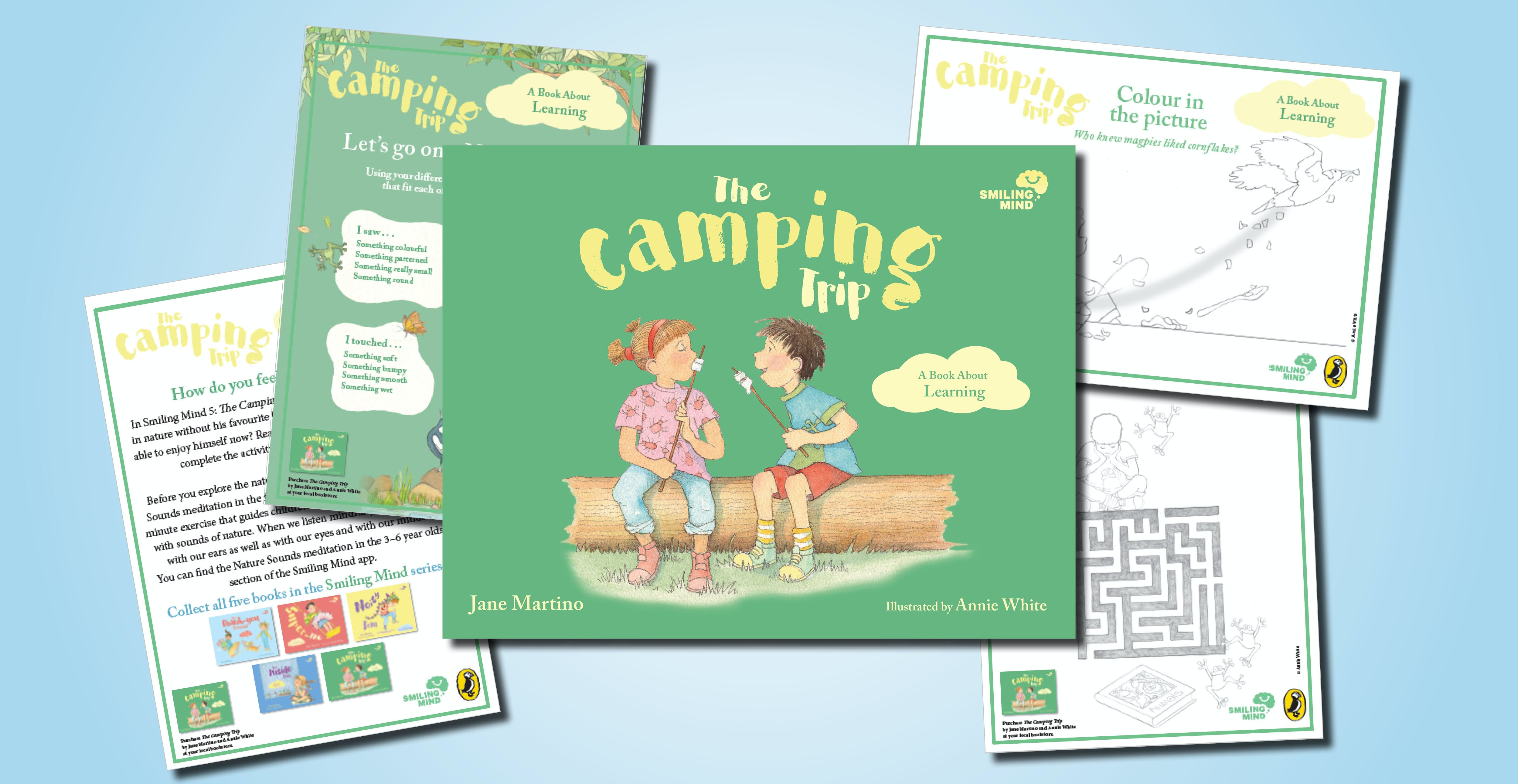 The Camping Trip activity pack