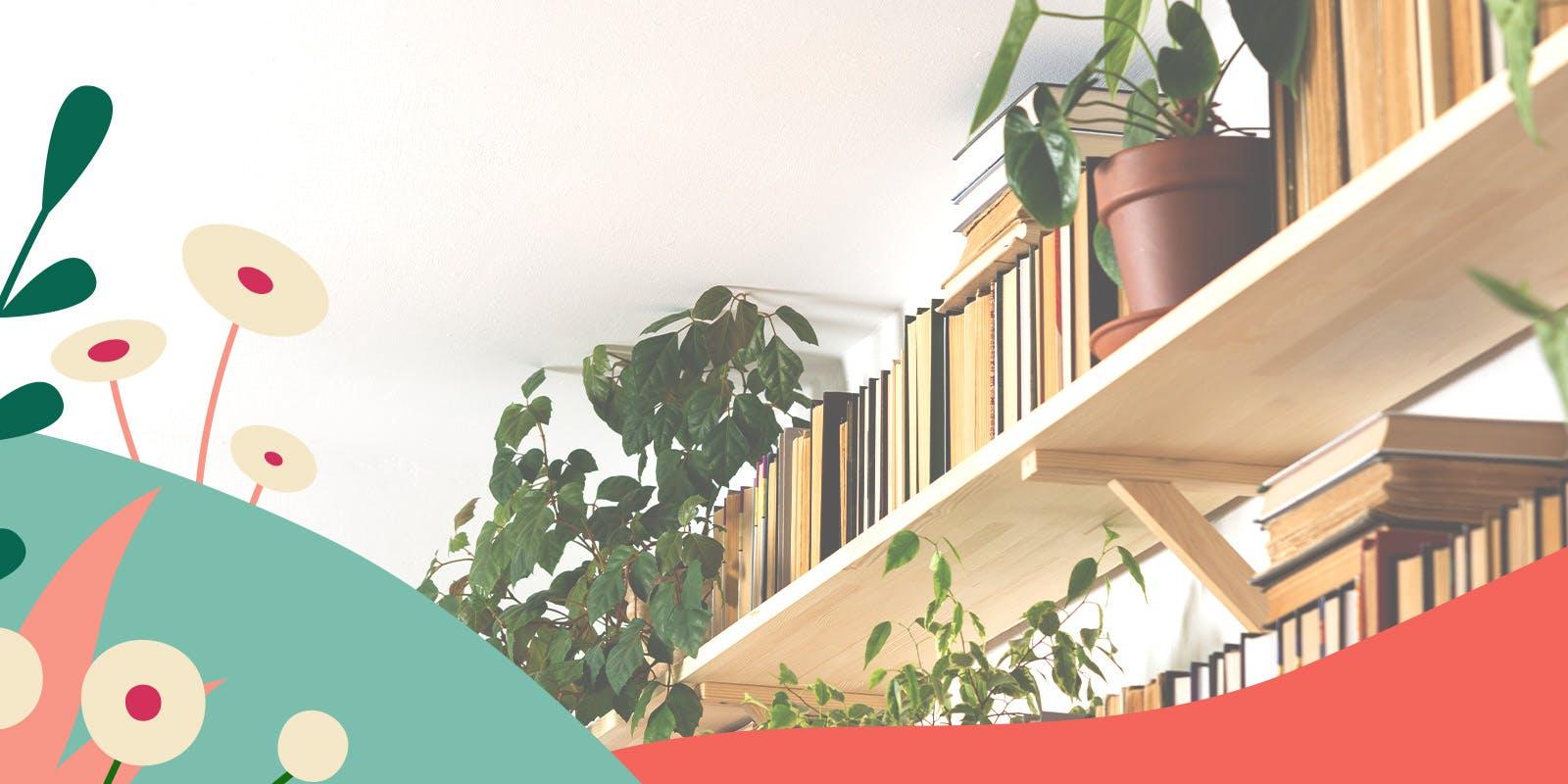 Five easy hacks to declutter your bookshelf