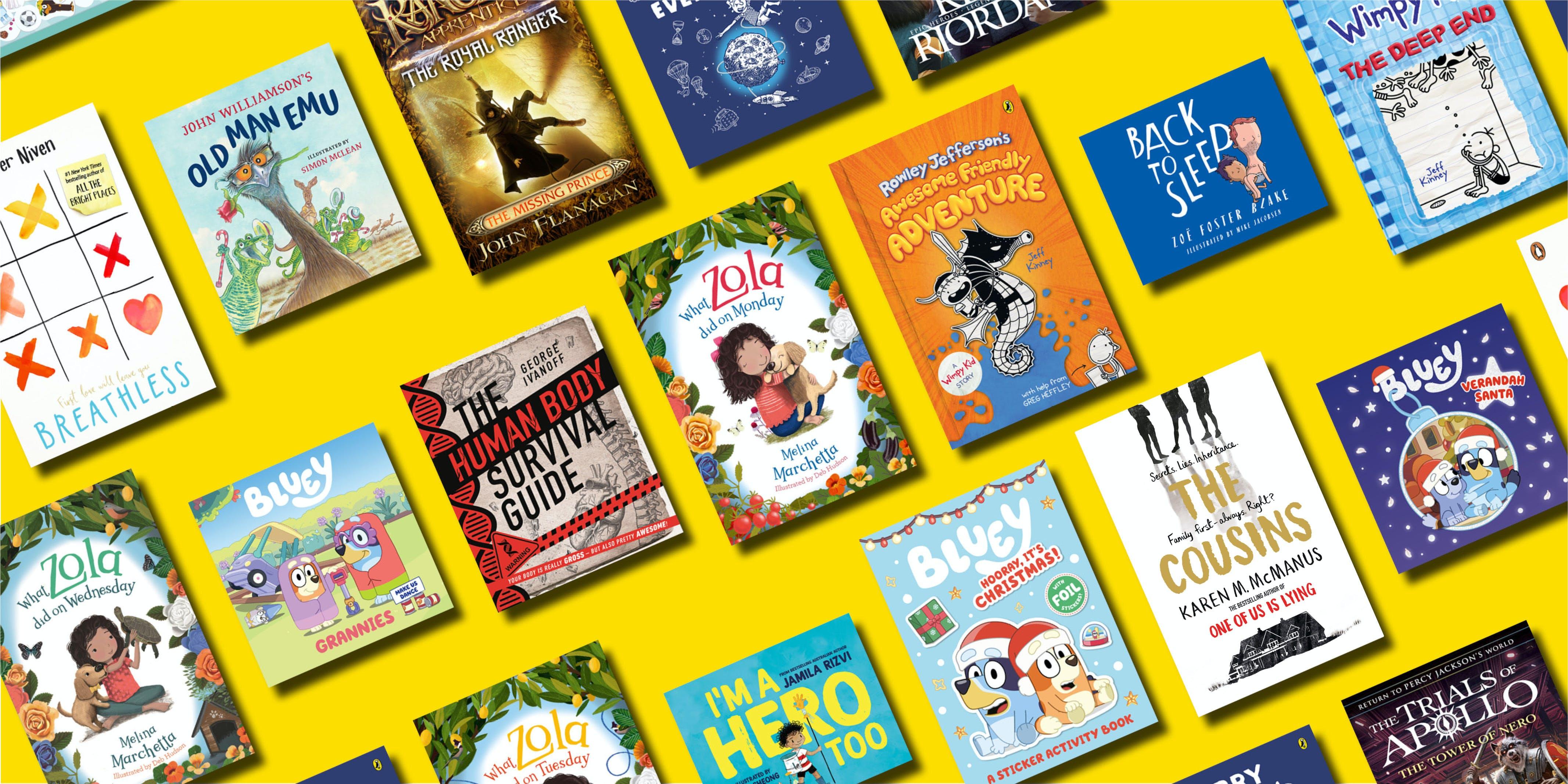 Australia's top 12 kids books for Christmas 2020