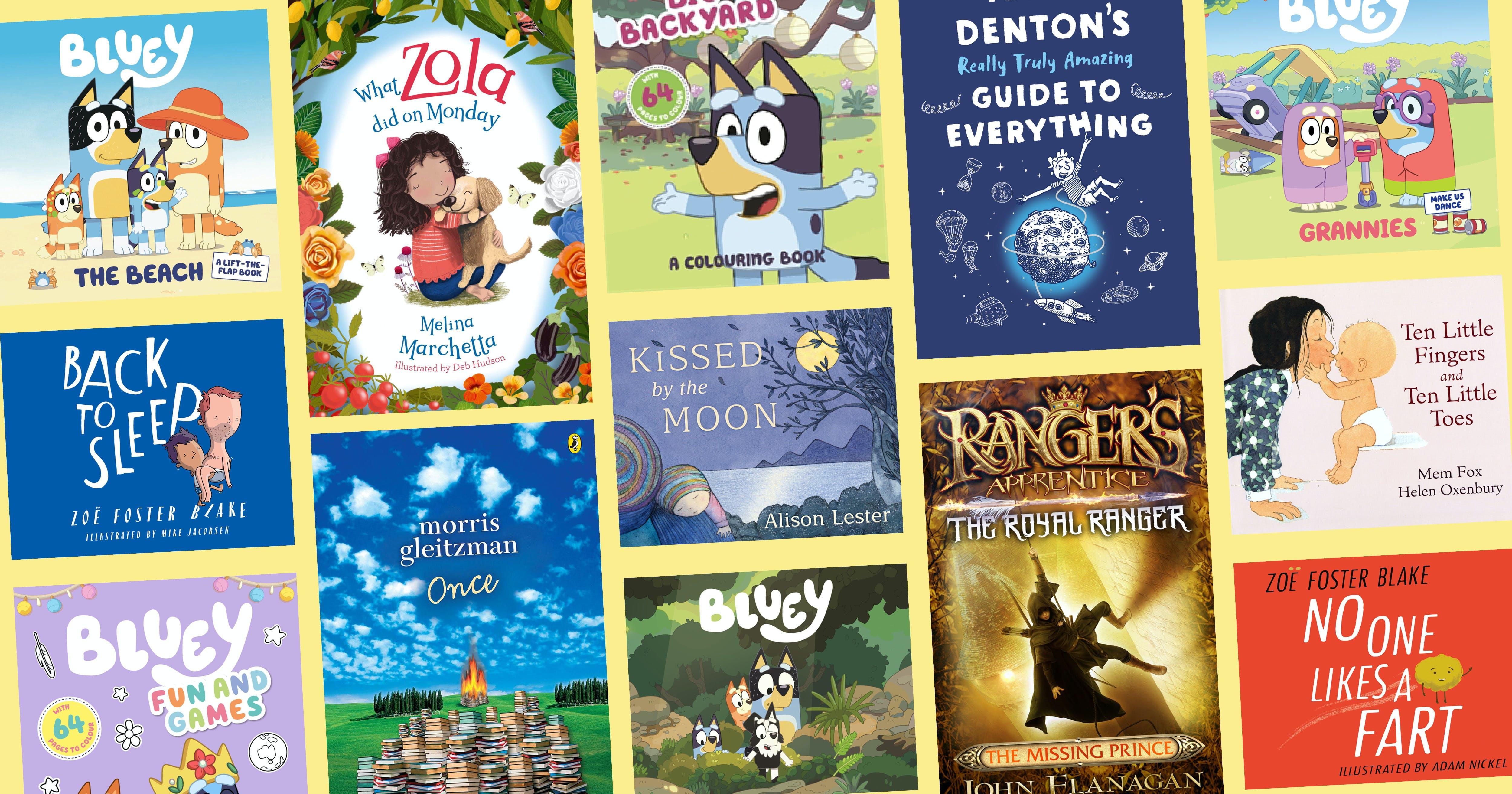 Australia's top 10 kids' books of 2020