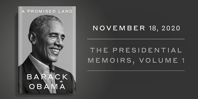 A Promised Land, by Barack Obama, to be published in New Zealand on 18 November