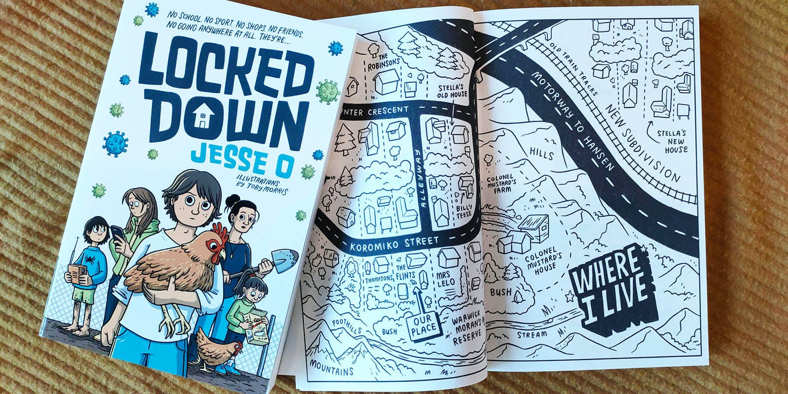 Locked Down: A note from the author
