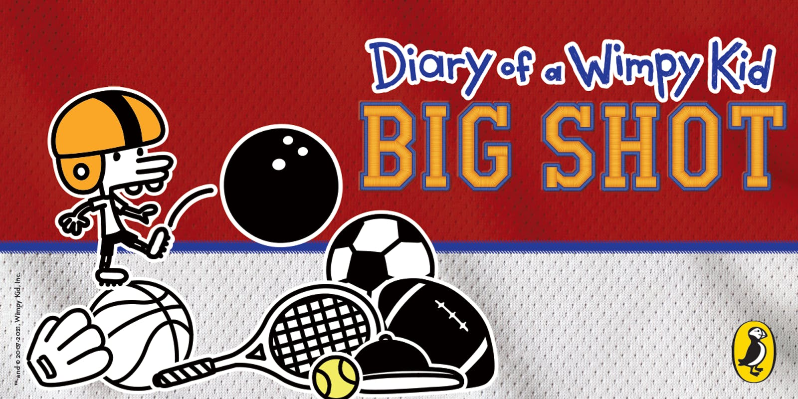 Diary of a Wimpy Kid 16: Big Shot Activity