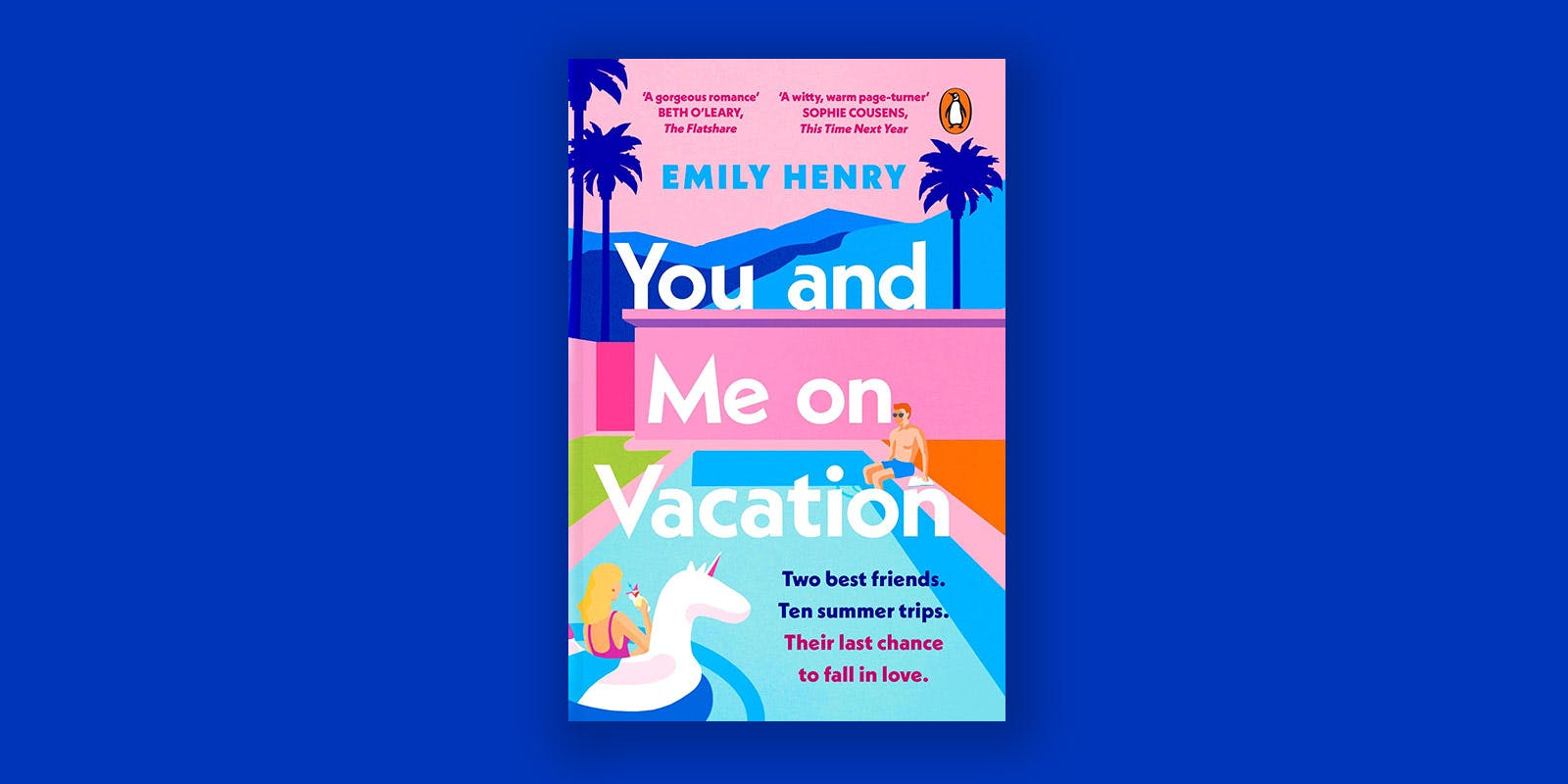 You and Me on Vacation book club notes
